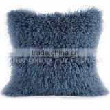 CX-D-04V Lamb Fur Pillow Cases Factory Fashion 100% Competitive Price Cheap Wholesale Pillow