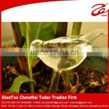 2015 hot sale self watering pot,glass watering