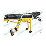 Light - weighted folding ambulance patient stretcher with satety lock and height adjustable