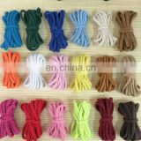 Stock colored 5mm cotton cord for draw cord