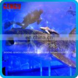 Indoor Playground High Simulation Colarful Shark Model