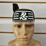 NINJA HEADBANDS BLACK COLOR