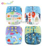 Elinfant oem cloth diaper manufacturers insert charcoal bamboo fitted cloth diapers