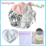 2017 absorbent breast pad disposable organic bamboo nusring pads