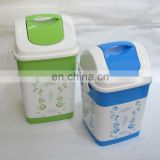 painted printed custom made trash cans