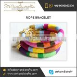 Best Quality Colorful Rope Bracelet for Women at Pocket Friendly Price