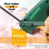 Micro Tagging Gun for fastener Thin fabrics, delicate underclothes tags