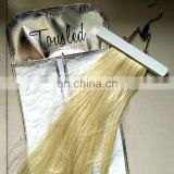 hot sell pvc hair extension bag mini garment bag in Europe