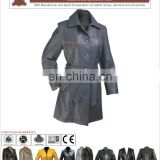 Ladies Leather Long Coats, Long Coat in Sheepskin, Coat in Lambskin