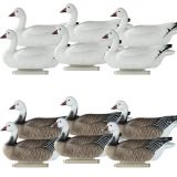 Cheap Snow Goose Floater For sale Floating Goose Decoys from China duck decoy factory