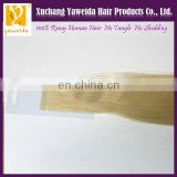High quality double drawn invisible tape hair extensions wholesale factory price