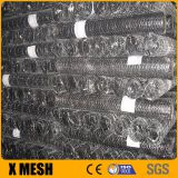 100ft pvc coated poultry farm wire netting/poultry chicken wire netting/green coated hexagonal wire mesh factory