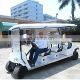 New 8 seater sightseeing electric car from top OEM sightseeing car factory (AX-B9+3)