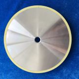 Vitrified diamond grinding wheel 200mm for  diamond tool, diamond compact, PCD and PCBN tool