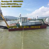 Sand Suction Dredger Reclaiming Land Hydraulic