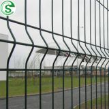 Green 50mm x 200mm mesh fencing and mesh barriers