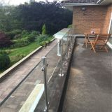 Factory wholesale price framed glass balcony railing with stainless steel glass clamps