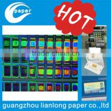 2015 carries an anti-counterfeit label for the hottest selling electronic plastic adhesive price tag label hologram stickers