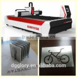 IPG laser source Gs-3015 500w fiber laser metal cutting machine for advertisement industry