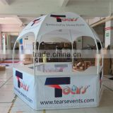 3x3x2.6m dome booth tent/Hexagon commercial dome tent /High quality gazebo kiosk tent