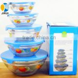 2014 Hot Sale High Quality Salad Mixing Glass Bowl