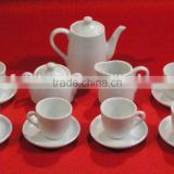 bone china tea pot set with luxury decal and cheap price and good quality