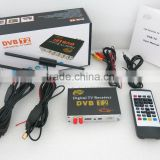 Russia DVB-T2 Receiver Thailand DVB-T2 Set Top Box Double Tuner Car DVB-T2 TV Receiver Digital TV DVB-T2 Box