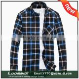 Grace period 2015 new shirts for adults/cotton fabric man shirt 2015/latest designs man shirt with cheap price
