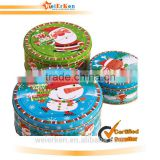 2014 china custom snowman box/tin gift box