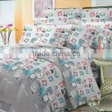 Cartoon animal Single Double Queen King Size Bed Set Pillowcase Quilt Duvet Cover