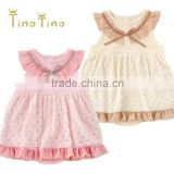 Japan wholesale cute and high quality chiffon hot selling item frock design for baby girl
