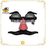 Party funny eye glasses with nose&mustache                                                                         Quality Choice