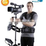 WONDLAN Entry-Level Dual Arm Carbon Fiber Stabilizer Steadicam Steadycam for Movie Shooting