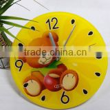 UV Oil 4C Printing Decorative Acrylic Wall Clock
