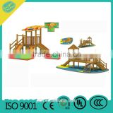 Wooden slide for kids play equipment MBL02-U43