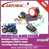 Hot sell One way motorcycle alarm system Remote Engine start Waterproof