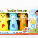 baby favorite sport toys animal bowling toy for wholesale, plastic bowling ball toys for Wholesale for children, EB030522