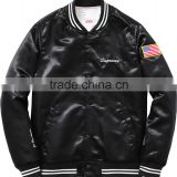 top quality satin jacket,custom high quality satin jacket,customized satin varsity jacket wholesale