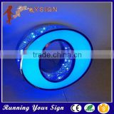Top quality punching holes stainless steel metal letter sign                                                                         Quality Choice