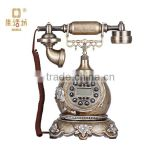 Household Creative vintage antique telephones American retro fashion hand-painted pattern Alice