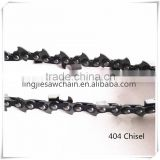 professional manufacturer of 404 chisel 20 inch gasoline chain saw spare parts 404 pitch saw chain