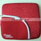 2014 Fancy Best selling 15 inch nylon insulated waterproof red neoprene laptop bag sleeve