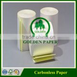 Good light Durability carbonless paper/NCR paper in sheet,invoice book