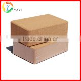 Gym Exercise Fitness Trainer Natural Cork Yoga Brick                                                                         Quality Choice
