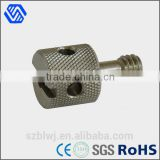 stainless steel custom special bolt camera screw knurl bolt