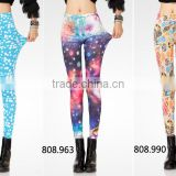cheap piece in stock Custom gym China supplier fashion printed yoga and sport fitness sexy leggings for women