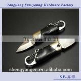 EDC outdoor sainless steel mini pocket camping survival tactical knife