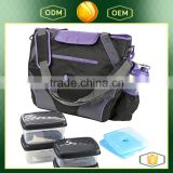 Large Capacity Insulated Cooler Meal Management Bag