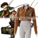 2016 Shingeki no Kyojin Eren Yeager Cosplay Costume Survey Corps Uniform Jacket Attack on Titan Cosplay