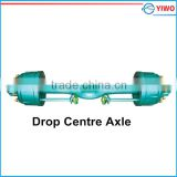 China Bigest factory Truck centre drop axles